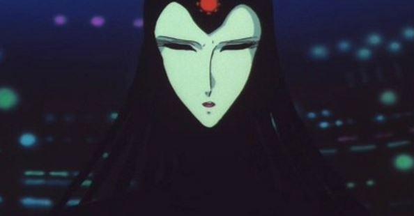 「1000年女王の雪野弥生」が、悪堕ちした姿がメーテルの母親の機械帝国の女王。
