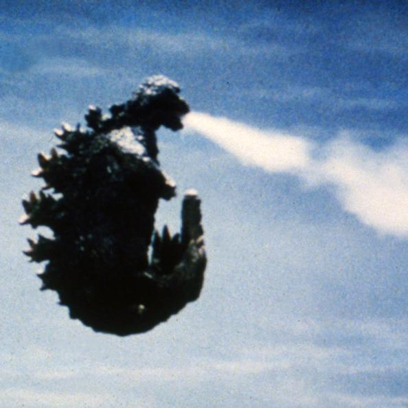 ゴジラは自力で空を飛んだシーン(ゴジラ対ヘドラ)