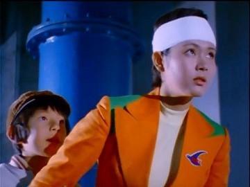 小杉 愛(演:木下ユリ) 『スーパーロボット マッハバロン』(1974年)