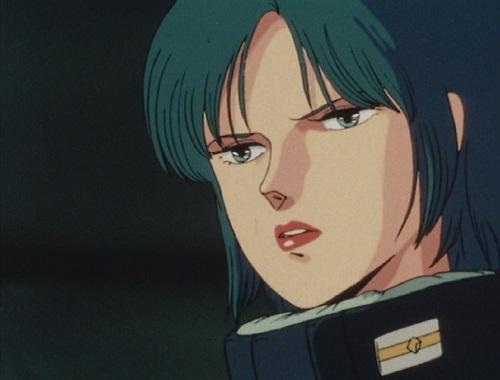マウアー・ファラオは、『機動戦士Ζガンダム』第12話でジェリド・メサのジャブロー脱出を手助けしたのが初出で、ジェリドの恋人として共に行動することになる。第30話にてΖガンダムの攻撃からジェリドを庇って戦死する。