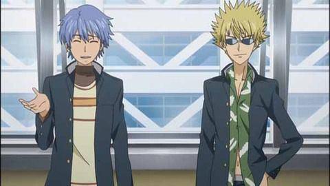 「上条当麻」とクラスメートの「青髪ピアス」と「土御門元春」の3人は、「三バカ(デルタフォース)」と呼ばれている。