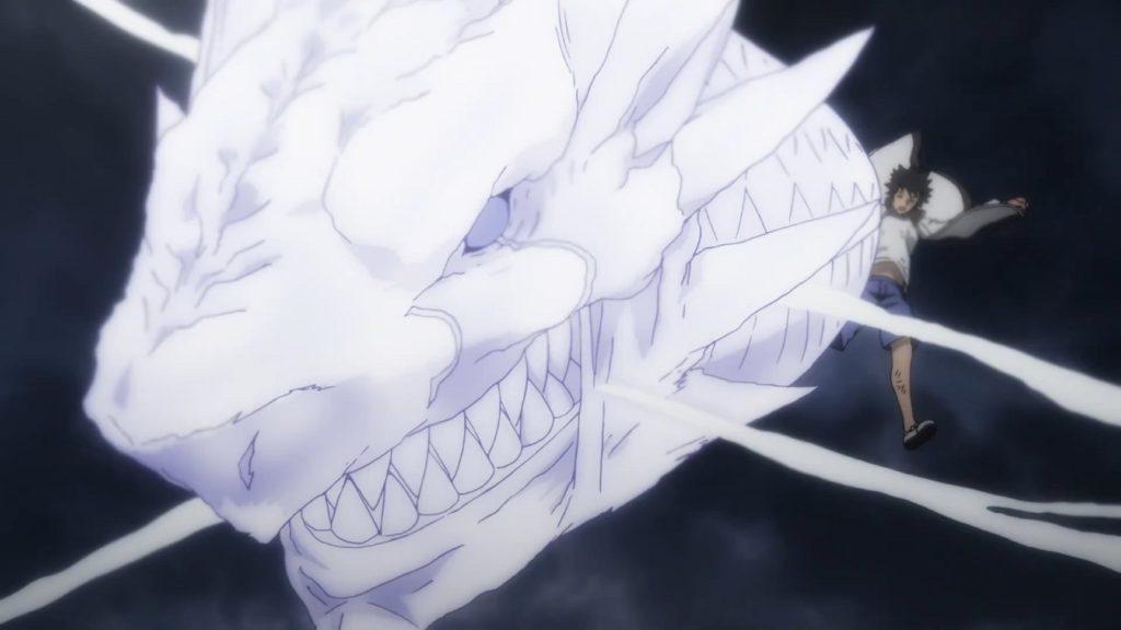 上条当麻 ドラゴン化