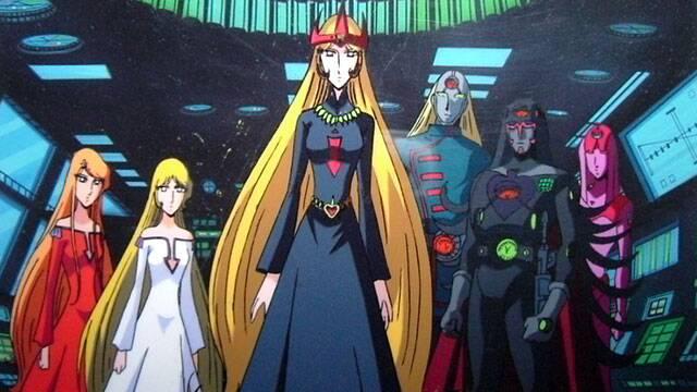 OVA『メーテルレジェンド』において「1000年女王の雪野弥生」がメーテルとエメラルダスの母であるプロメシュームとして登場し、機械帝国の女王へと変貌する様子が描かれた。