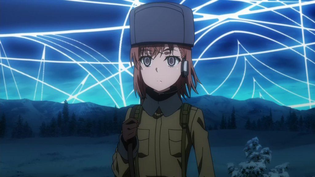 一〇七七七号は、ロシア在住の御坂美琴の量産型クローン・妹達(シスターズ)の一人。軍服(迷彩服)に身を包み、戦車などの操縦もできる天才っぷり。