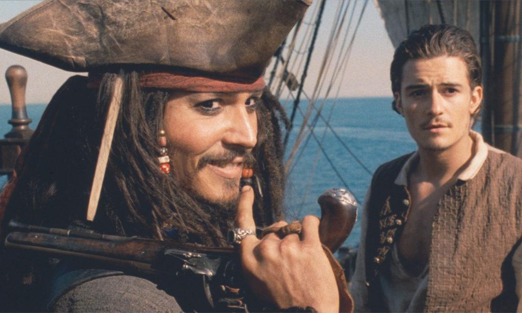 『パイレーツ・オブ・カリビアン』シリーズの第1作目「パイレーツ・オブ・カリビアン/呪われた海賊たち」