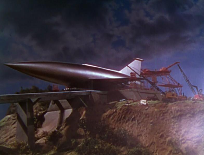 地球最後の日 (1951年のSF映画)では、放浪惑星ベラスとの衝突による「地球の消滅」という絶望、地球の軌道に定着するザイラにロケットによって移住する希望が描かれた。