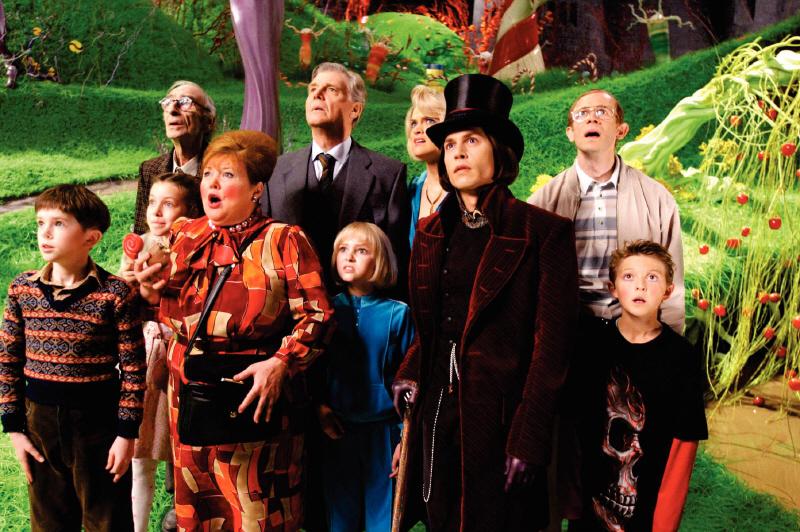 チャーリーとチョコレート工場(2005年)