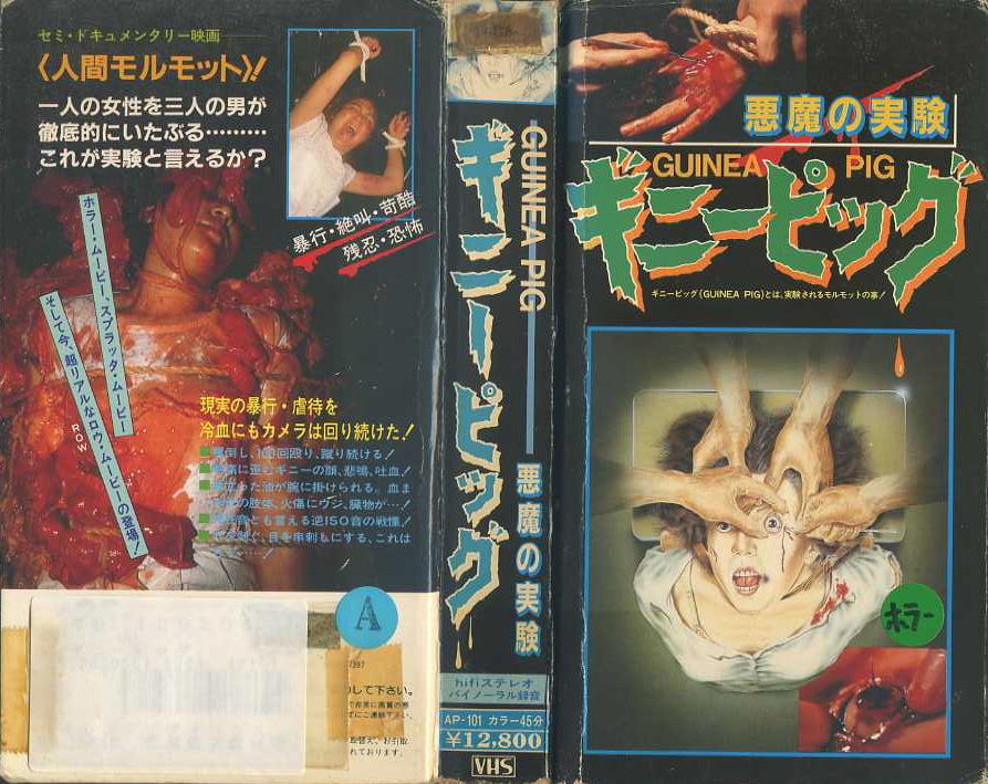 1985年の第1作『ギニーピッグ 悪魔の実験』