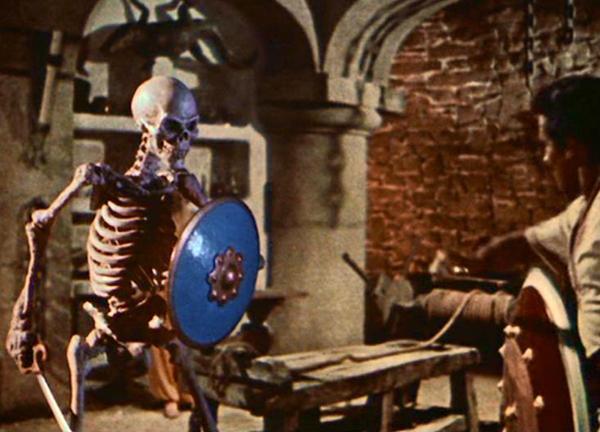 骸骨剣士とシンドバッドの戦いは人形アニメーションの頂点を極めた映画史に残る名シーン。