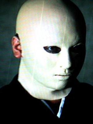 「佐清(すけきよ)」は戦争で顔を負傷しマスクをかぶっているため本人かどうか疑わしいと家族が言い出し争いになる。