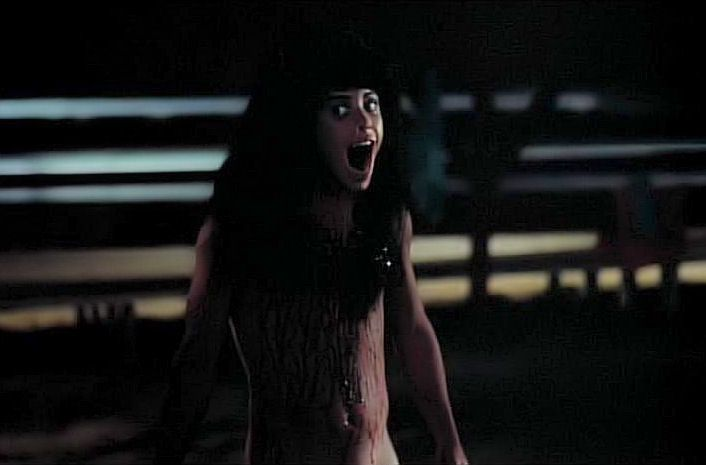 サマーキャンプ・インフェルノ(1983年)は、衝撃のラストで、男性器が露出することで、有名な作品。その予想外の展開により、実はアンジェラ(姉)の正体はピーター(弟)であることが分かる。