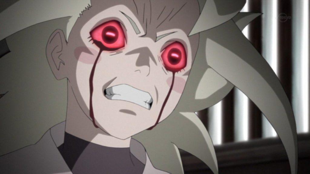 生き残った血之池一族の末裔であるチノの強力な瞳術を操る血龍眼