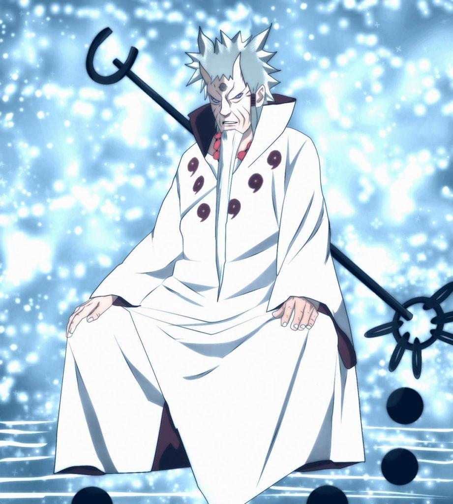「大筒木ハゴロモ」は出家して伝説の僧侶『六道仙人』となる。
