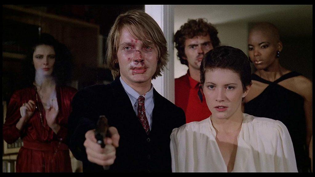 だが、隙を見て青年が銃を持ち出し、経営者に銃弾を浴びせつつ、真相を語る。青年の妹は、かつて経営者に殺されており、その復讐のためにパーティに誘ったのだ……。