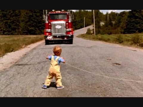 息子がトラックにはねられてしまう。