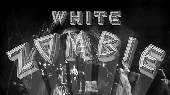 「魔人ドラキュラ」の監督ベラ・ルゴシによる「ホワイト・ゾンビ」が世界初のゾンビ映画。