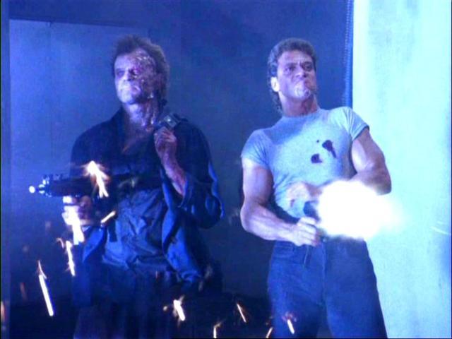 犯人もゾンビ! 刑事もゾンビ!ゾンビ化した二人の刑事が主人公の80年代アクションムービー屈指の珍品。