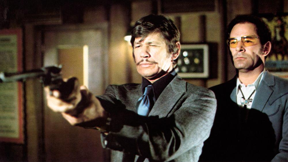 チャールズ・ブロンソンの名を不動のものにした『狼よさらば』シリーズ第1弾。