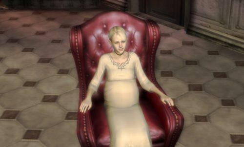 主人公「フィオナ・ベリ」は、ウーゴの不完全なクローン体である「リカルド」をオリジナル体として産み直させるために妊娠させられる・・・鬱すぎるバッドエンド