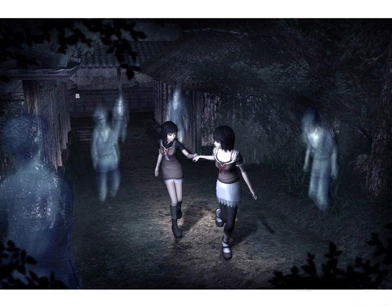 """『零~紅い蝶~』の主人公は、霊感を持った双子の少女。天倉 澪と姉の繭。""""地図から消えた村""""に迷い込んでしまった二人は、怨霊に満ちた村から脱出する為に、手に入れたカメラ「射影機」で霊と戦い、写真に写ったヒントを元に謎を解いていく。"""