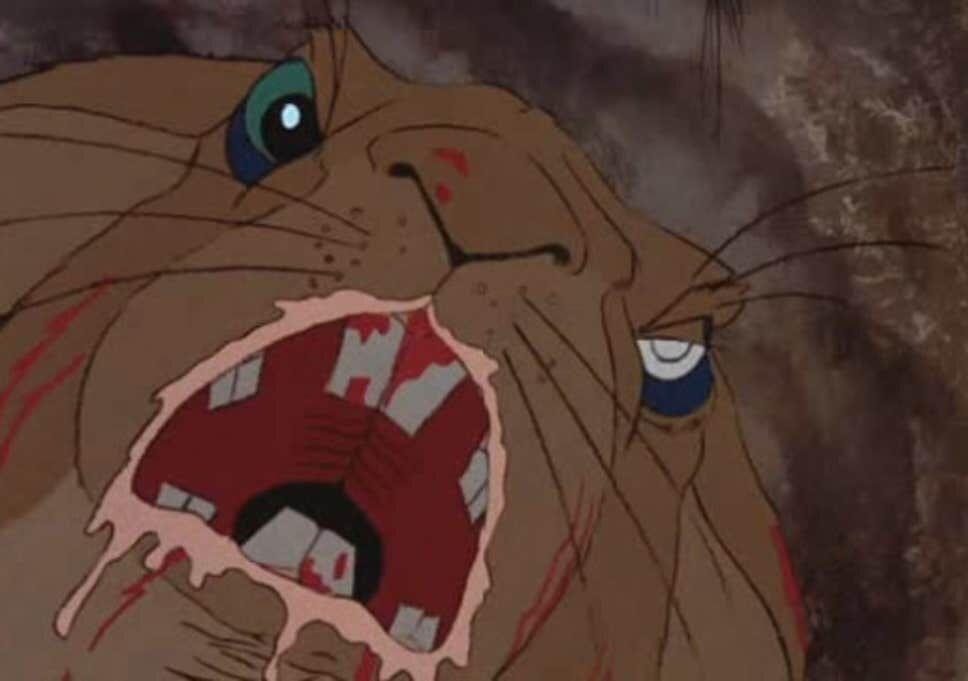 ウサギ達が無残に死にまくる凄いトラウマ映画。