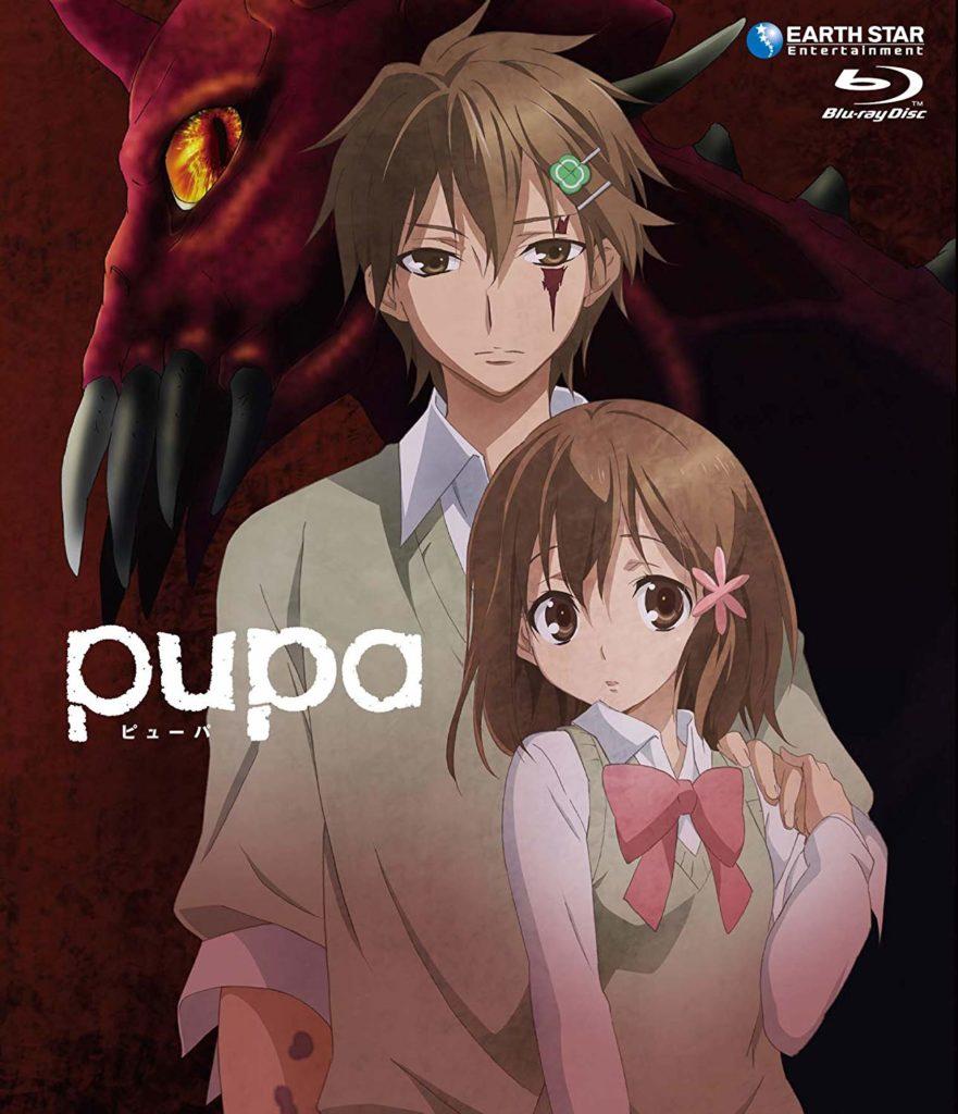 茂木清香の漫画「pupa」は、ほのぼのとした絵柄に対して、グロテスクな描写や重厚で残酷な物語が描かれ、人気を得ている。