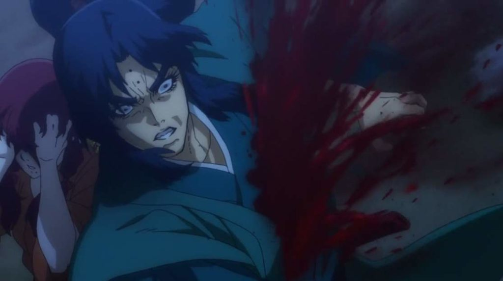 八郎は死に、響の両目が潰れる。