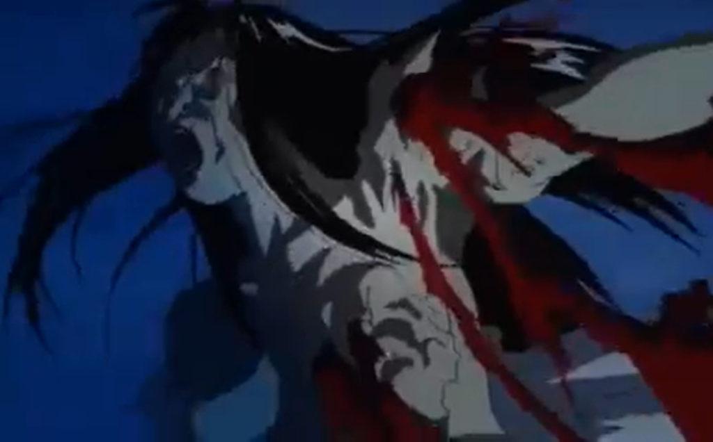 怪物と化した感染者に近づくと落涙し、自らも怪物と化するという体質を持つ主人公の駒田は、女性の人面祖を取り除く。
