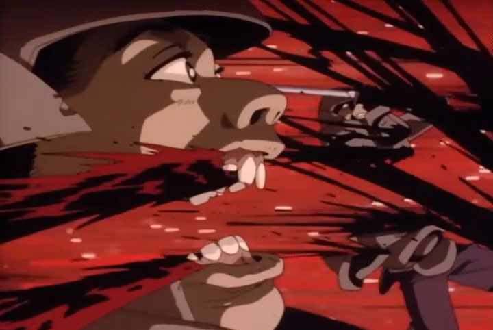 「魔界転生 地獄篇・第一歌」と「魔界転生 地獄篇・第二歌」ともに残酷なエログロ描写が満載。