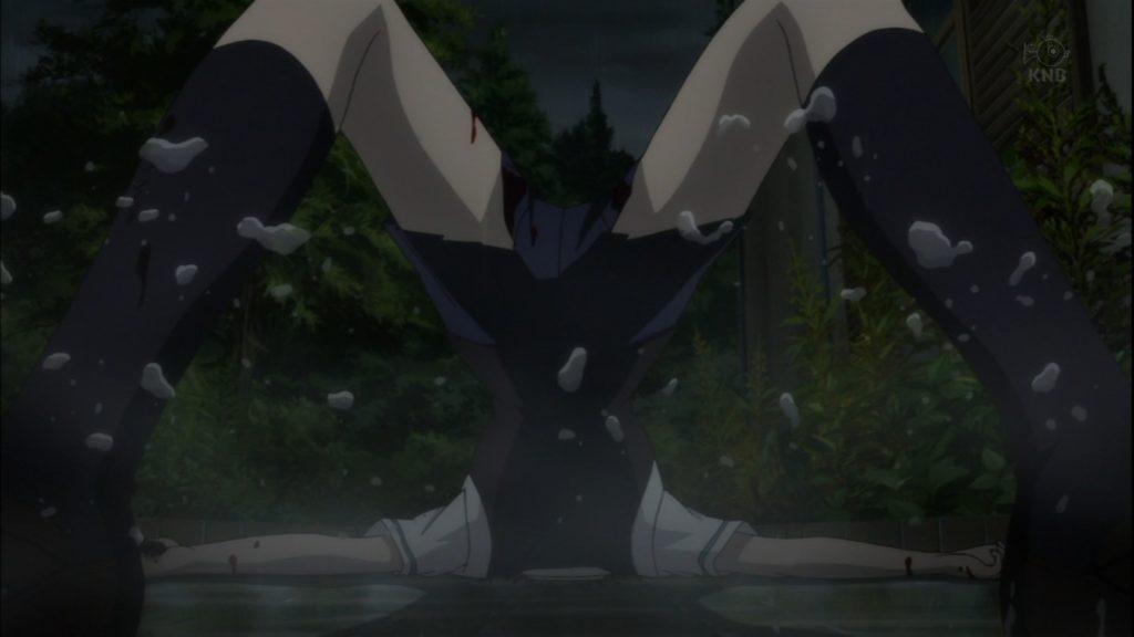 小椋 由美はブリッジのような体勢で転落死。まさに「ブリッ死」。