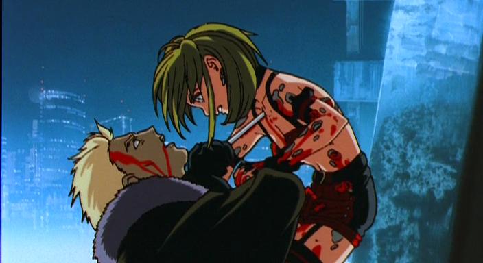 『アミテージ・ザ・サード』の主人公の「ナオミ・アミテージ」とサード連続殺害の犯人である「ルネ・ダンクロード」の対決。