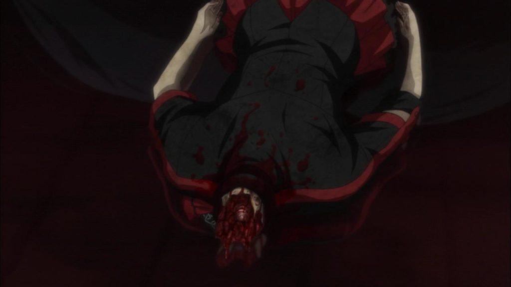 首チョンパ後の首の切断面の傷口が・・・流石にリアル。
