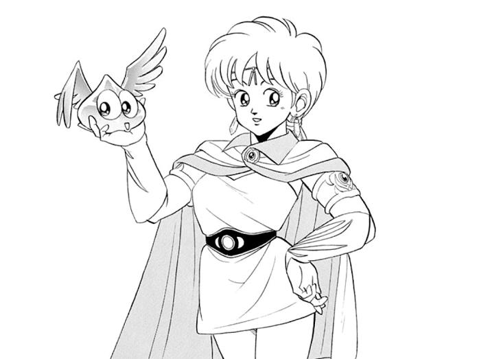 「レオナ」はパプニカ王国の王女であり、賢者の卵でもある。