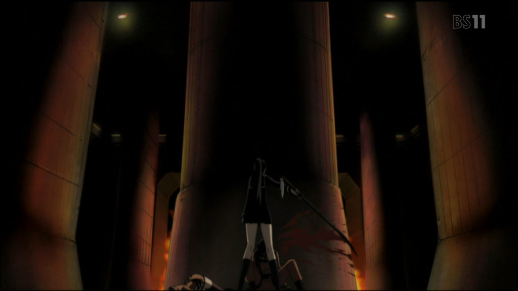 『喰霊-零-』の主人公と思われていた特戦四課の観世トオルは、諫山黄泉に惨殺されて死亡した。衝撃的な展開として話題になった。
