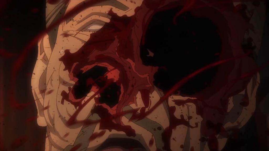 R15+指定された戦闘シーン、人体破壊描写はリアルで強烈なインパクト。