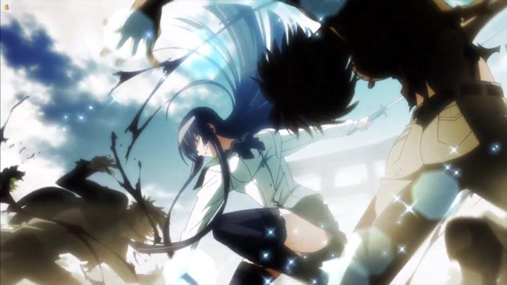毒島 冴子(ぶすじま さえこ)は、アニメ版では大きくクローズアップされるという厚遇を受けた。OVA版でもメインヒロインを担っている。最も戦闘力が高く、当初から持ち前の剣術で「奴ら」を薙ぎ払ってきた。