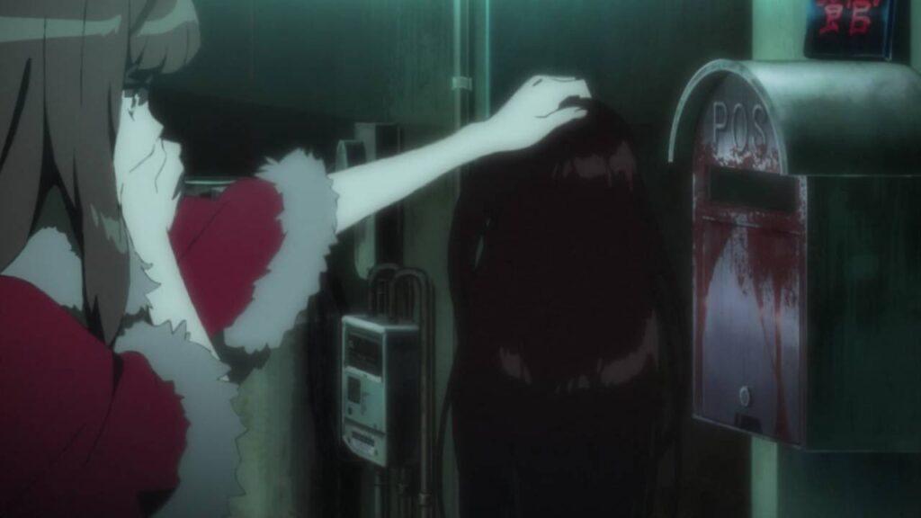 紅ノ亞里亞(くれないのありあ)は、謎の人物から、橋下教授を呪い殺す依頼を受け、郵便ポストに入っていた頭皮ごとむけた髪を受け取る。