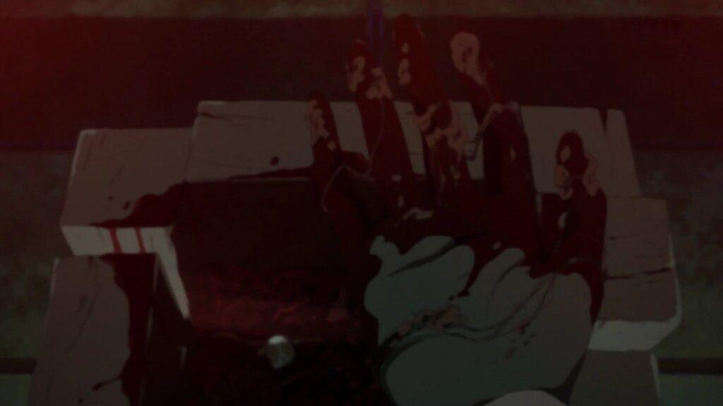 コトリバコは、子供の一部を箱に詰め、相手の土地に埋めて相手の子孫を途絶えさせると言われる呪いの箱。中身の正体はちいちゃん。