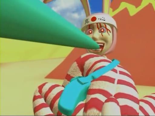 「POPEE the ぱ フォーマー」は、子供向けアニメとは思えない残虐表現も含むグロい3DCGアニメ。