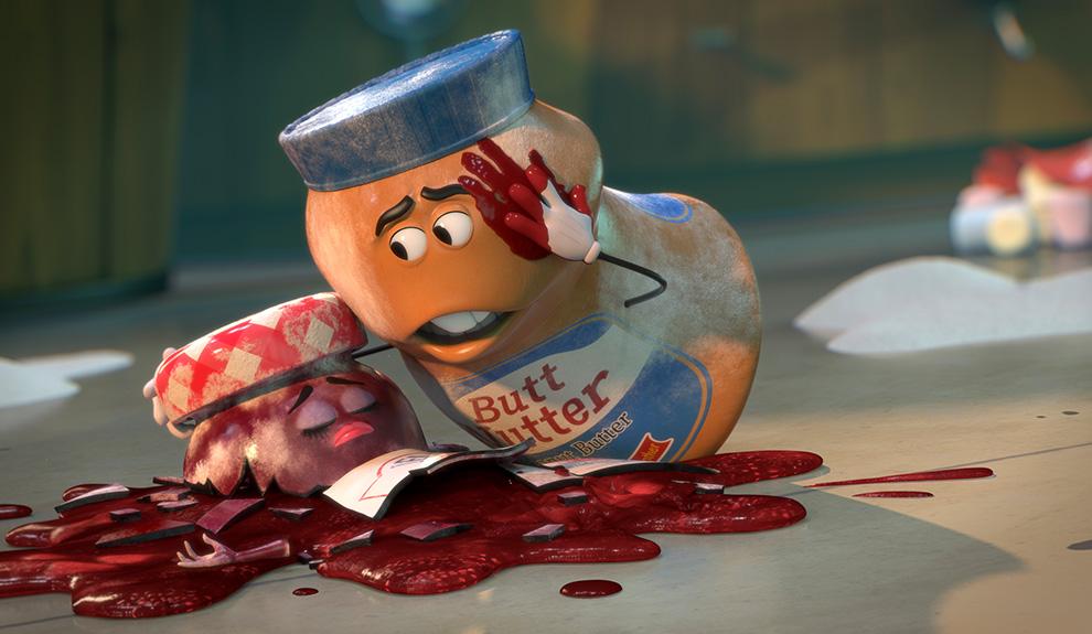 人間に食われる運命の食材たちに突き付けられる過酷な現実を描く。「過激」で「下品」な映像ゆえにR15+指定に。