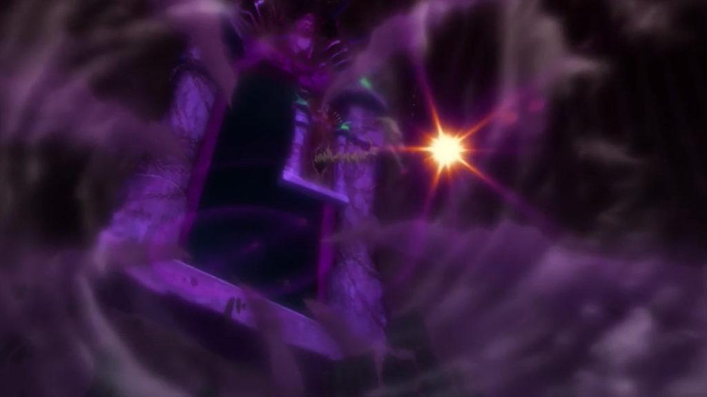 一つ目のヴァルハラ・ゲートごと魔王を飲み込む2つ目の「ヴァルハラ・ゲートアナザー」。1つ目と比べて2つ目のヴァルハラ・ゲートはより巨大になっている。冥府の使いが男神になっており話もする。