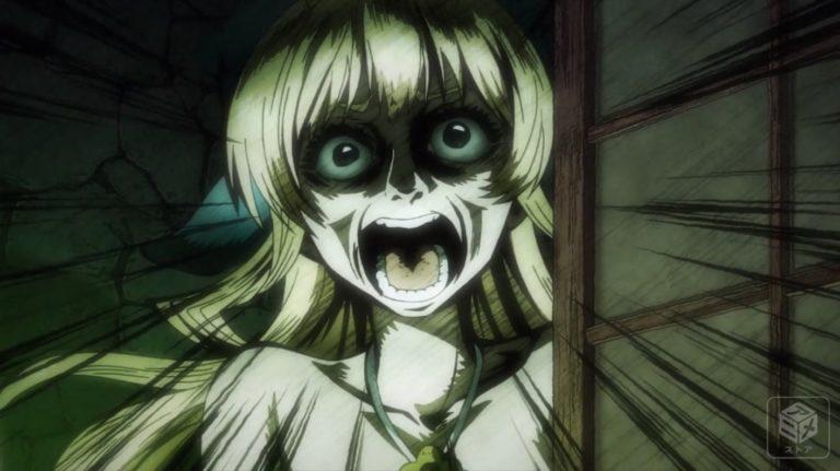 壁一面に「殺す」の文字が…アデネラの部屋を見たリスタのホラー顔(7話)。