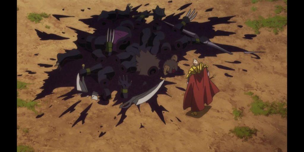瞬殺された魔王軍四天王のイライザ=カイゼルは、戦帝の強さを見せつけるための「噛ませ犬」になってしまった。