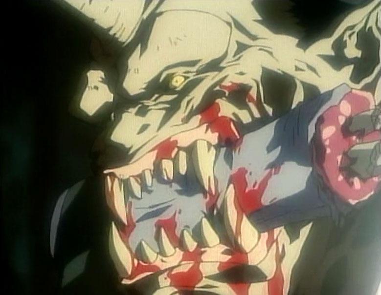 """謎の爆発で壊滅状態となってから復興をはたしているネオ新宿で、角が生え牙の生えた""""鬼""""のような生物に人間が食い殺される謎の殺人事件が発生した。"""