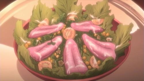 絵羽の舌で作ったサラダ