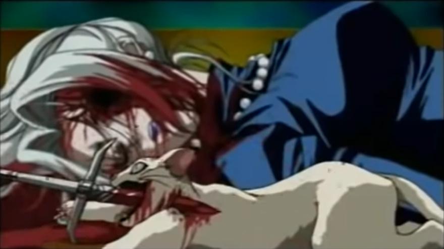 「青ひげ」では、マリアンネは執事のヨーハンに殺されてしまう。なんと青ひげと執事のヨーハンは同一人物であった。青ひげに殺された女性の死体の山の描写も恐ろしい。