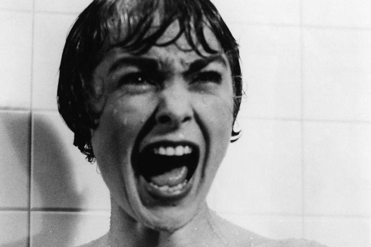 「サイコ」(1960年)の主演女優のジャネット・リーがシャワールームで惨殺される有名な「シャワーシーン」。