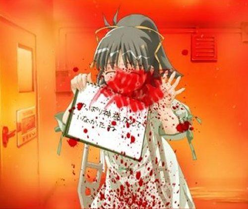 羽村まことは、スケッチブックに「やっぱり神様なんていなかったね」という最後の言葉を書き残す。