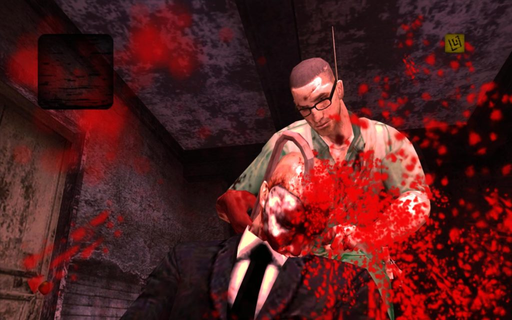 Rockstar Gamesが贈る、過激なサイコクライムアクションManhunt 2。過激なシーンにより世界的社会問題に。