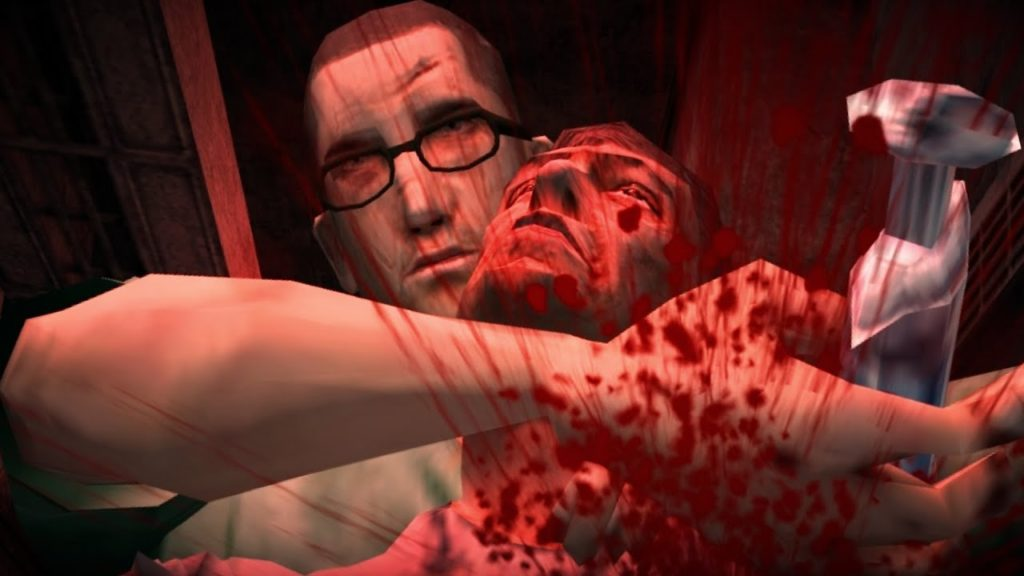 『Manhunt 2』はその、生々しい残酷表現により度々グロゲームの代表格と評されることが多い。